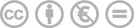 Creative Commons Nicht-Kommerziell Keine Bearbeitung